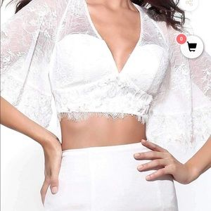 NWT Sherri Hill prom gown dress ivory new 4